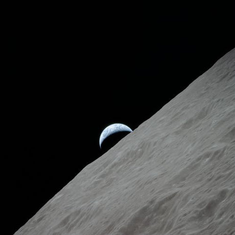 Earthrise for Apollo 17