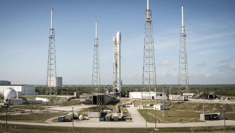 Falcon 9 Orbcomm 2 on the Pad II