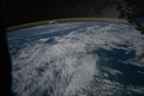Shuttle Atlantis Reentry from the ISS