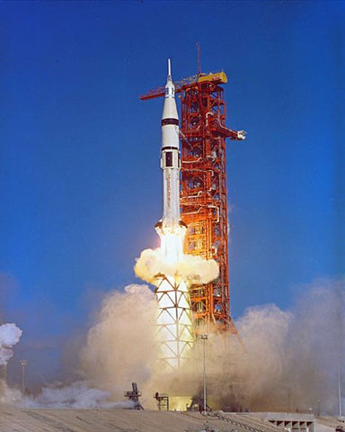 Skylab 4 Launches upon Saturn IB