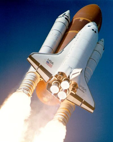 The Space Shuttle Atlantis Launching