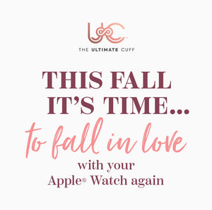 Fall Fashion: Fall in LOVE with your Apple Watch again!
