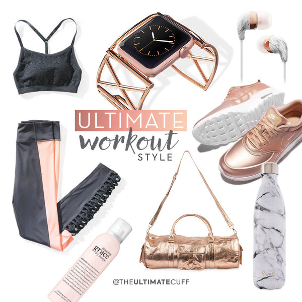 The Ultimate Workout Style Trend :: ROSE GOLD
