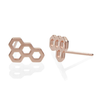 Honeycomb Earring