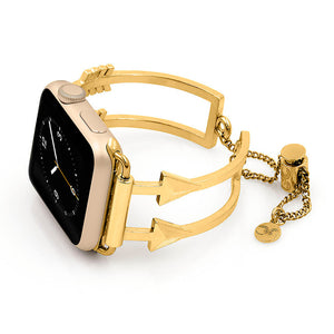 Yellow Gold Apple Watch Cuff