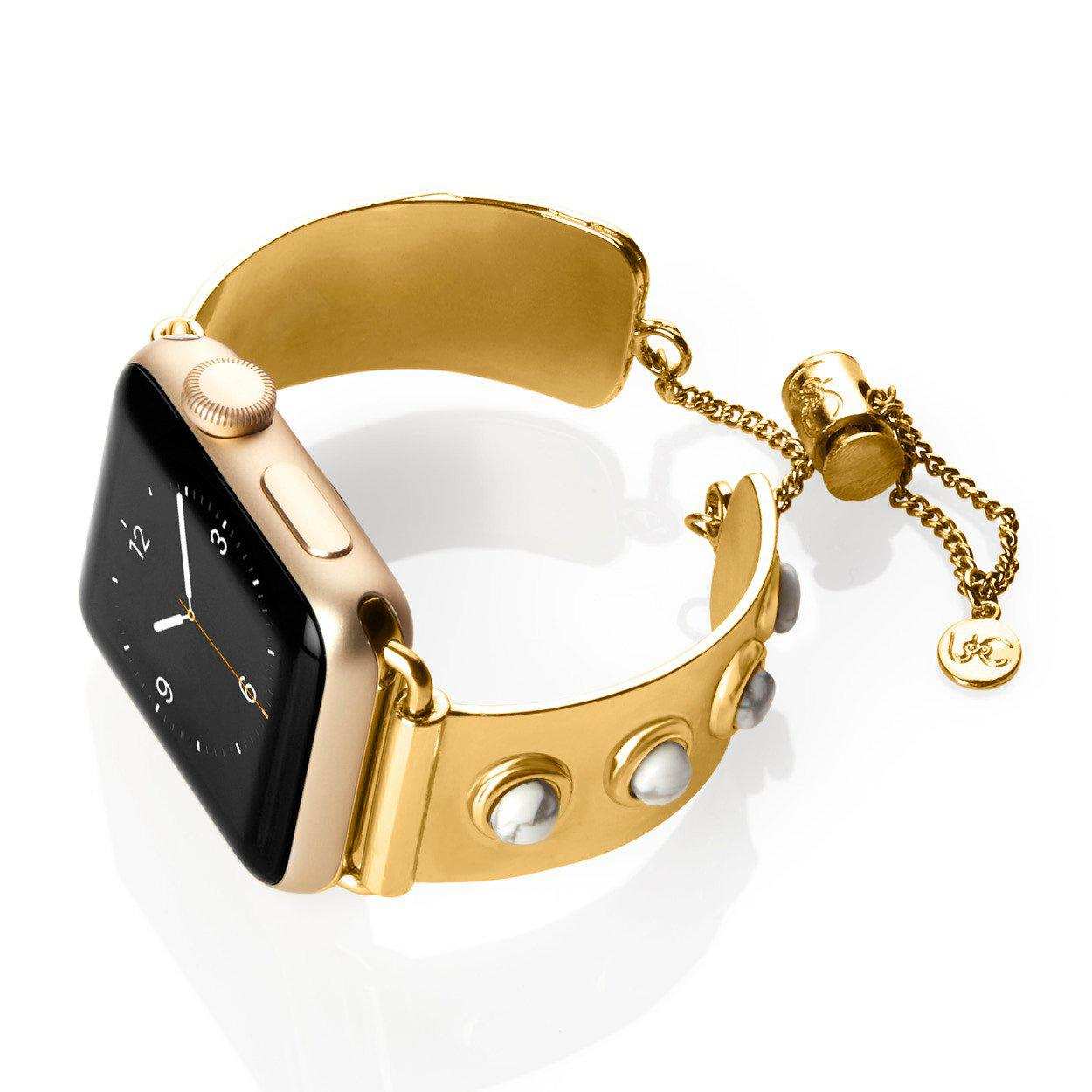 7c0fcec98 Lola Mini Apple Watch Jewelry Band - Browse Our Designer Cuffs - The ...