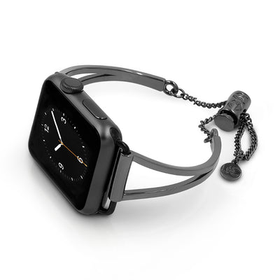 The Mia Space Gray Apple Watch Band by The Ultimate Cuff