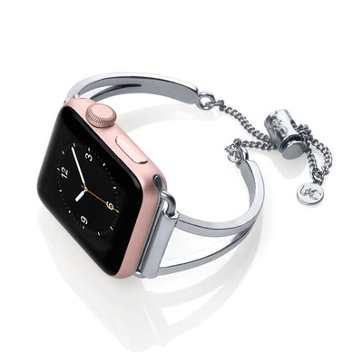 The Mia Silver Apple Watch Band by The Ultimate Cuff