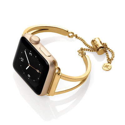 The Mia Gold Apple Watch Band by The Ultimate Cuff