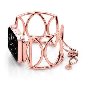 Apple Watch Jewelry Cuff Cleo Rose Gold