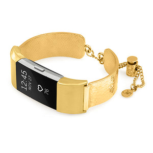 FitBit Charge 2 Jewelry Cuff Coco Mini Yellow Gold