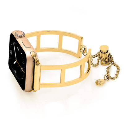 The Addison Gold Apple Watch Band by The Ultimate Cuff