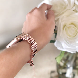 The Ultimate Cuff Apple Watch band Honey Rose Gold