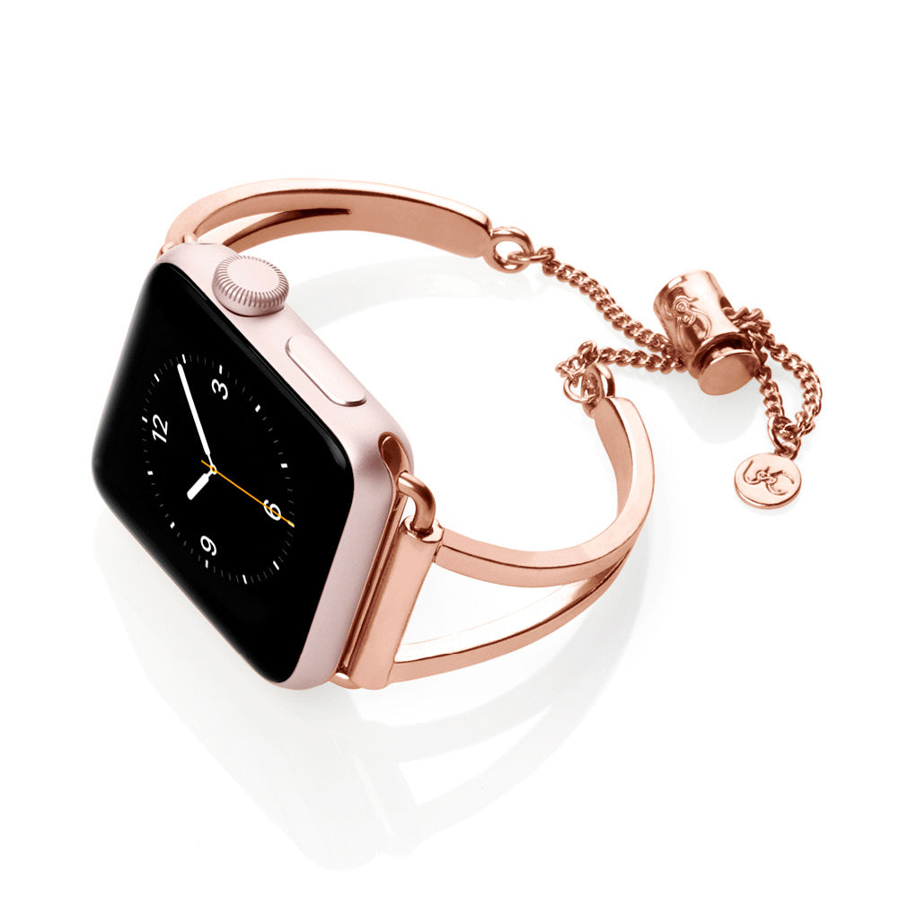 The Ultimate Cuff Apple Watch band Mia Rose Gold
