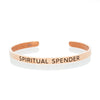 Spiritual Spender Mantra Band by The Ultimate Cuff