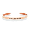 Wine and Shine Mantra Band by The Ultimate Cuff