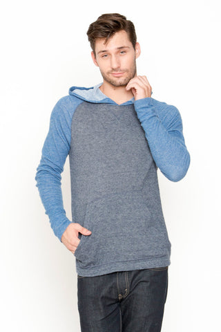 Contrast Raglan with Hood