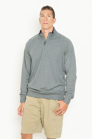Long Sleeve Pima Cotton Pullover