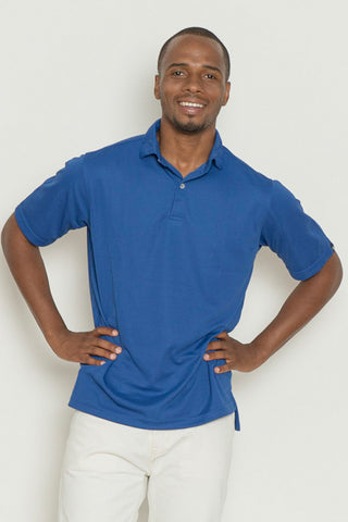 Solid Knit Polo