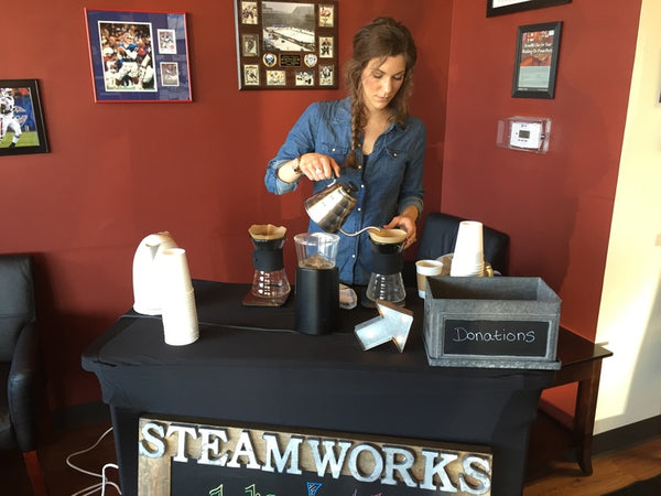 Steamworks cafe, partners of Jeca Bars