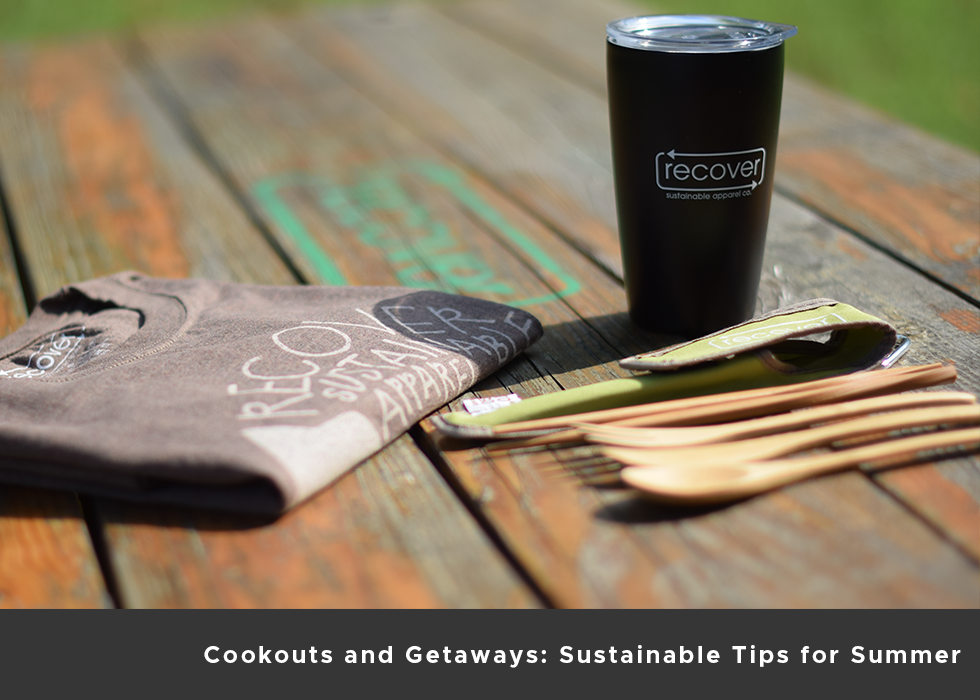 Cookouts and Getaways: Sustainable Tips for Summer