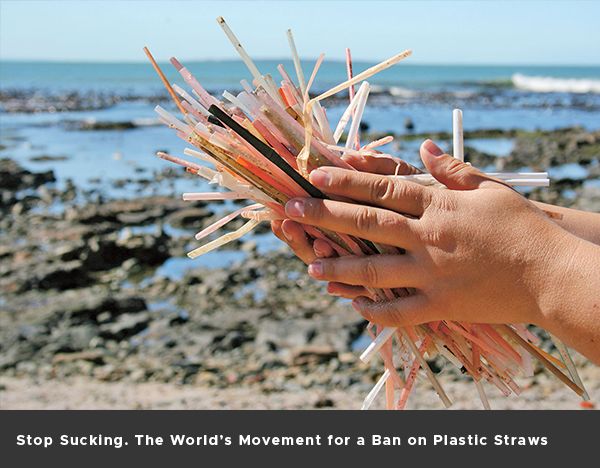 Stop Sucking. The World's Movement for a Ban on Plastic Straws.