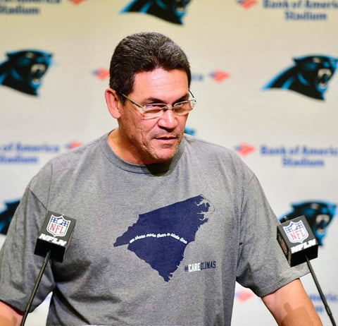 Ron Rivera CAREolinas Hurricane Florence