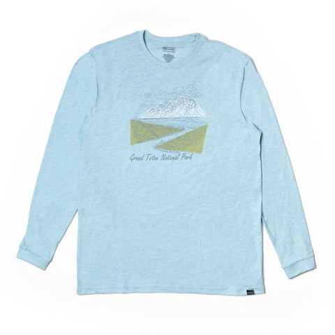 Grand Tetons Long Sleeve Classic Tee