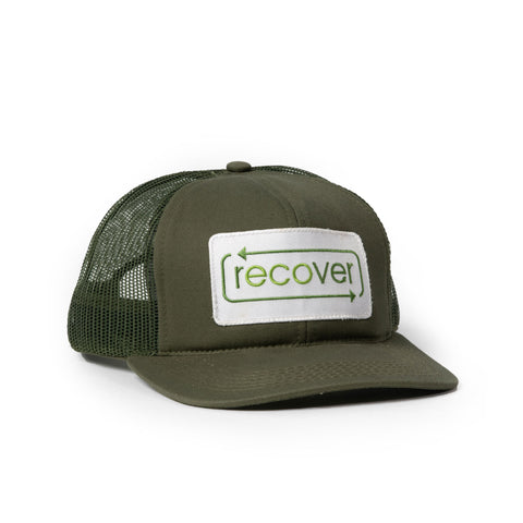 Recover Trucker Hat - Green