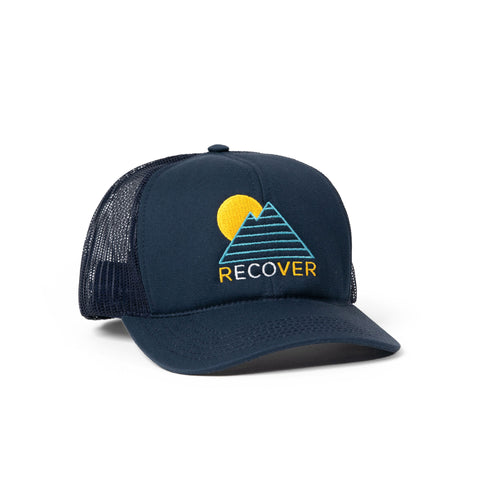 Horizon Trucker Hat - Navy
