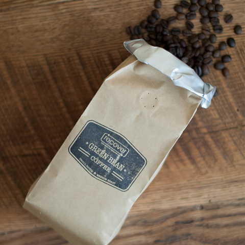 Recover Green Bean Coffee Large Bag