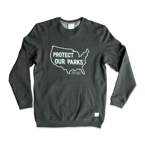 Protect our Parks Crewneck Sweatshirt