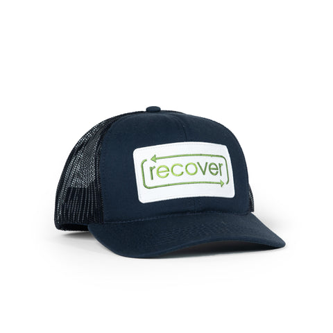 Recover Trucker Hat - Navy