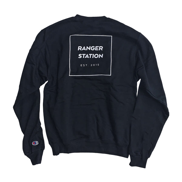 Champion Crew Neck Sweatshirt (Back Logo) Provisions Ranger Station