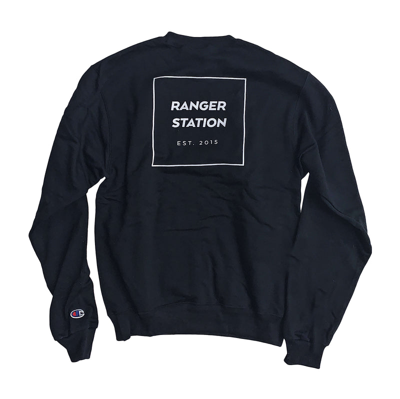 Champion Crew Neck Sweatshirt (Back Logo)