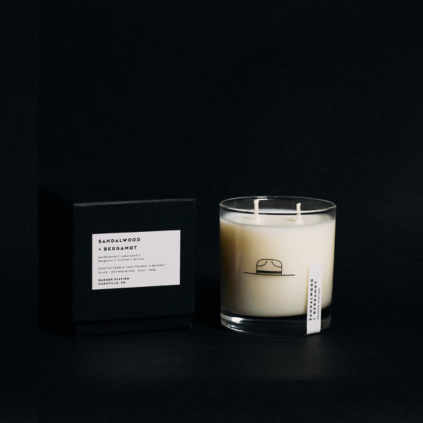 Sandalwood + Bergamot - Limited Edition MOM Print Candles Ranger Station