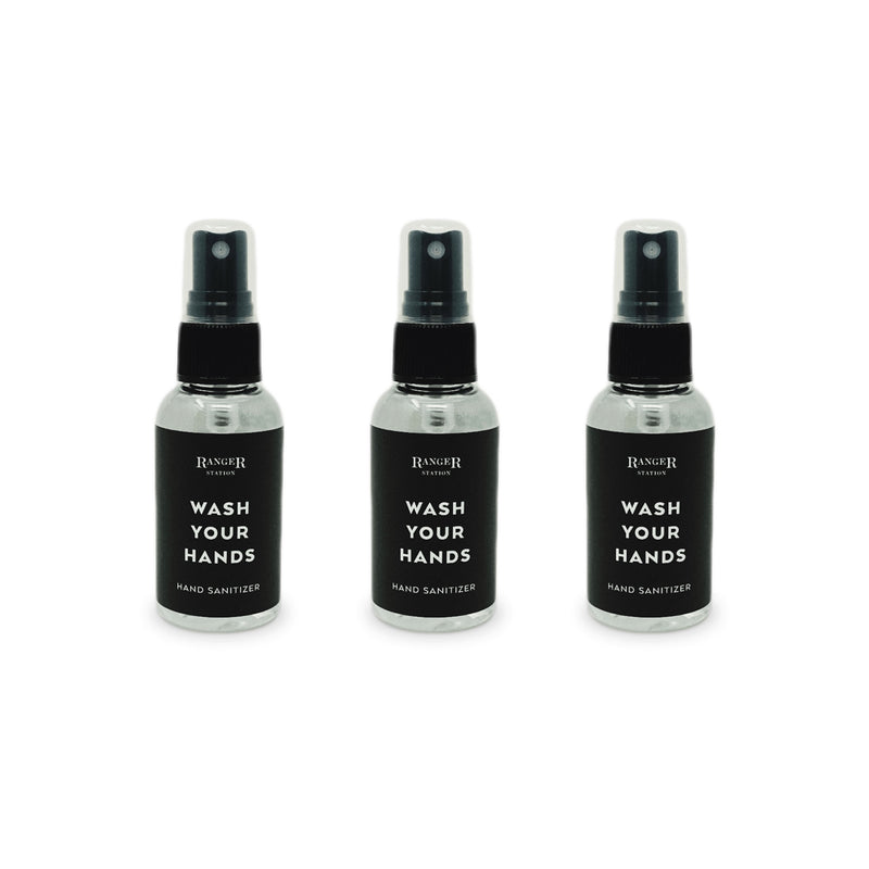 Stress-Relieving Eucalyptus Hand Sanitizer 3-Pack Ranger Station