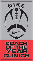 Nike Coach of the Year Clinic Logo