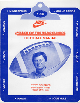 1996 Nike Coach of the Year Clinic Manual - Text on DVD
