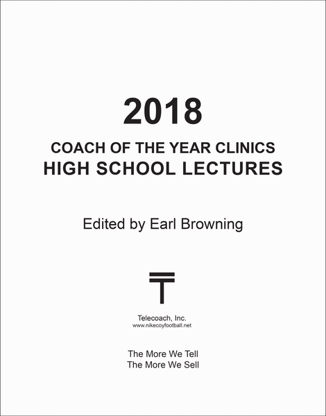 2018 Coach of the Year Clinics High School Lectures (PDF Copy)