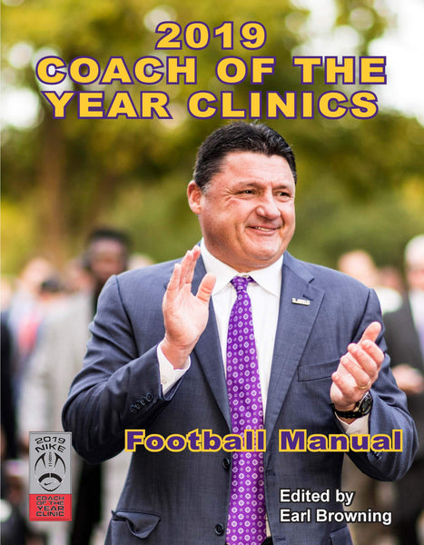 1997 Coach of the Year Clinics Football Manual (Coach of the Year Clinics Football Manuals)