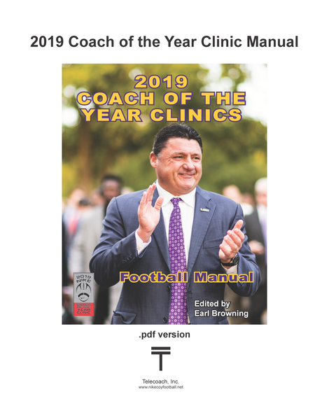 2019 Nike Coach of the Year Clinic Manual (PDF Copy) College & H.S. Lectures