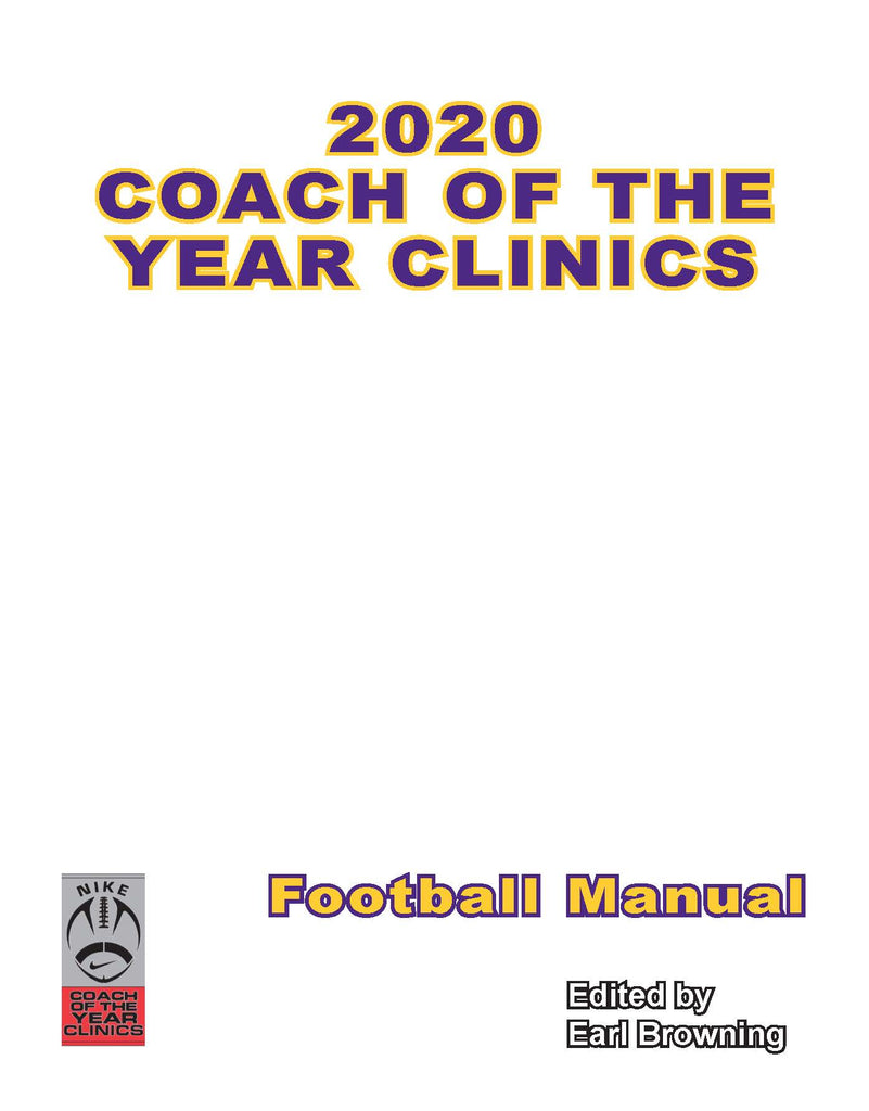 2020 Nike Coach of the Year Clinic Manual - College & H.S. Lectures (Printed Copy)