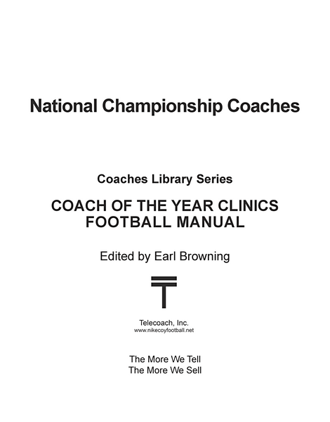 National Championship Coaches (PDF Copy)