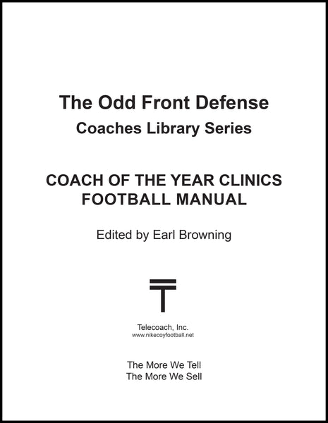 The Odd Front Defense - (PDF Copy)