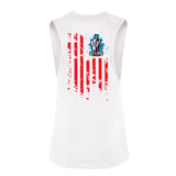 Women's Freedom Tank (White)