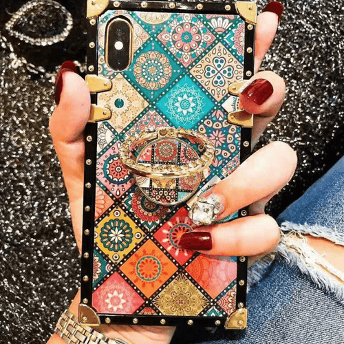 Coque boho chic de luxe Blu-ray iPhone/Samsung - Coques - BohemeForever