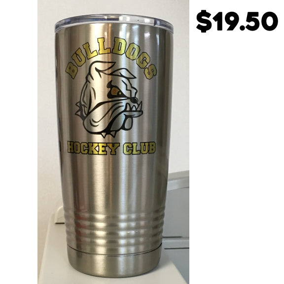 Bulldogs Hockey Club 20oz Sublimatable Stainless Steel Vacuum Insulated Tumbler