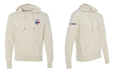 Liggett Volleyball French Terry Hooded Pullover Sweatshirt