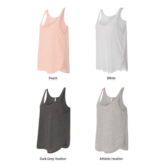 3 Multi Media Vinyl Easter Egg Women's Side-Slit Tank Top